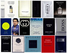 Mens Cologne Samples Armani Burberry Bvlgari Cartier CK Dolce Gucci Hugo Polo