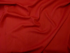 Red Canvas Fabric Medium Weight 100% Cotton 150cm Wide Sold Per Metre FREE P+P