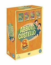 Abbott & Costello: 8 Classic Films DVD Box Set New & Sealed R2