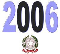 ITALIA Repubblica 2006 Singolo Annata Completa integri MNH ** Tutte le emissioni