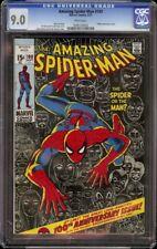 Amazing Spider-Man # 100 CGC 9.0 White (Marvel, 1971) John Romita cover