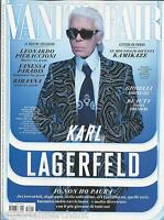 Karl Lagerfeld Vanity Fair Magazine Leonardo Pieraccioni Vanessa Paradis Rihanna