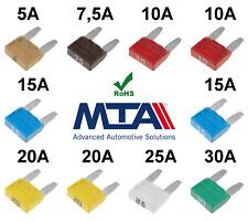 Set Mini Sicherungen 10 Stück KFZ LKW (Typ ATM APM) Sicherung MTA Qualitätsware