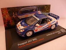 coche 1/43 IXO altaya Rallye Campeones Francia Peugeot 307 WRC Henry 2007 azul