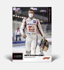 Mick Schumacher Topps Now Formula 1 F1 Card #2 2021 Uralkali Haas PRE-ORDER 🏎☆ミ