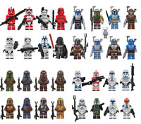 Lots of Set of 8 PCS Minifigures lego MOC - Star War Stormtrooper & Weapons 2020