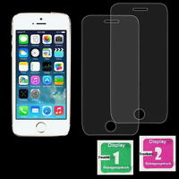 2x iPhone 5 / 5S / 5C / 5SE Schutzglas Verbundglas 9H Panzerglas Display Folie