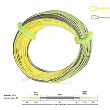 Aventik Fly Fishing Line DT 3F/4F/5F/6F Two Colors Fly Line with 2 Welded Loop