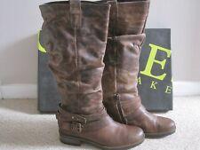 BNiB - Jones Bootmaker 'Sandy' Brown/tan leather knee high boots size 7