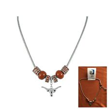 "TEXAS LONGHORNS  18""  LOGO CHARM NECKLACE - NEW"