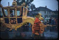 Portland Oregon Parade Chariot Float 1950s 35mm Slide Red Border Kodachrome