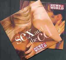 SEX AND THE CD VOLS 1 & 2: PROMO 2 CD SET (2003/4) KOOL & THE GANG, FUGEES ETC