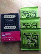 Seymour Duncan Pearly Gates Humbucker Pickup Set Zebra 3 SETS ERNIE BALL STRINGS