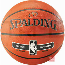 Spalding NBA Silver Outdoor Basketball (Available sizes: 3, 5, 6, 7)