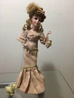LIMITED EDITION GENUINE PORCELAIN DOLL ANGEL COLLECTIBLE MEMORIES USED