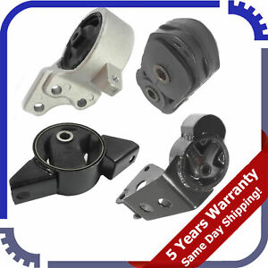 Transmission Mounts Set Replace for Nissan S13 S14 1989-1998 180SX 1995-2000 200SX 1989-1999 240SX Solid Engine Motor