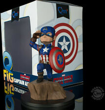 QUANTUM MECHANIX MARVEL CAPTAIN AMERICA 3 CIVIL WAR CAPTAIN AMERICA Q-FIG FIGURE
