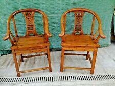 Coppia di poltrone - sedie in legno antiche - Francia XX secolo