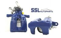 VW Golf mk5 R32 3.2 2003-2009 Pair Rear Remanufactured Brake Calipers in Blue