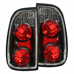 Anzo 211126 Black Clear Halogen Bulb Tail Lights fit for 00-06 Toyota Tundra