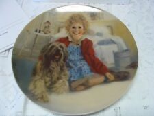 Annie and Sandy Collector's Plate by Knowles Collectible Plate