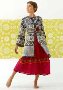 BNWT *Gudrun Sjoden* gorgeous Eesti organic cotton coatigan XL