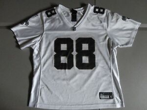 White Reebok Womens XL New Orleans Saints #88 Jeremy Shockey NFL  Screen Jersey