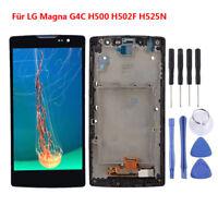Für LG Magna G4C H500 H502F H525N Schwarz LCD Touchscreen Digitizer Mit Rahmen Q