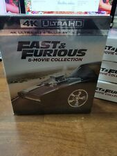 Fast & Furious 8 Movie Collection 4K Ultra HD Blu-ray + Digital Codes  SEALED
