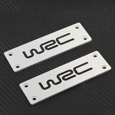For WRC Logo Racing Sport Auto Car Floor Mat Carpet Emblem Badge Ford Benz BMW