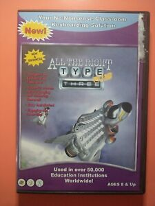 All the Right Type THREE Plus  cd-rom by ingenuity works Used Good Condition