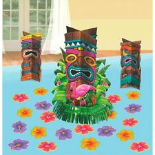 HAWAIIAN LUAU PARTY SUPPLIES TIKI TABLE DECORATING KIT HAWAIIAN DECORATIONS