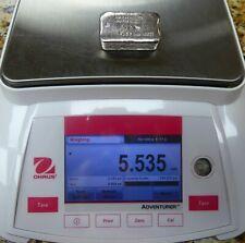 Triple AAA Precious Metals Inc Oddball 5.53oz .999 Fine Silver Bar - b