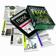 Cthulhu Fluxx Ever Changing Card Game Looney Labs HP Lovecraft LOO 052 Family