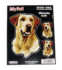 Pet Blonde Lab Laborator Dog Decal for Window, Locker, Notebook, Mirror, Car, RV