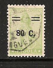 ANGOLA # 267 Used SURCHARGE Overprint