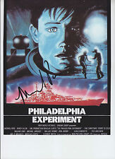 Michael Pare - THE PHILADELPHIA EXPERIMENT - signed 8x10