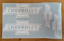 Chevrolet Retro Logos / Emblems / Stickers - assorted, 4 total, multiple colors