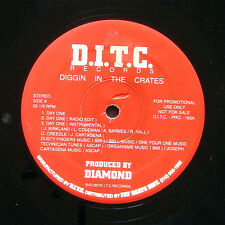"D.I.T.C. DIGGIN IN THE CRATES Day One 12"" PAYDAY US 1997 PROMO Hip Hop Rap"