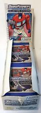 More details for transformers generation one collectors stickers x100 packs hasbro 2003 full box