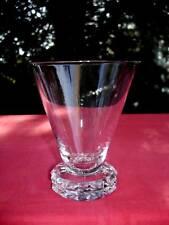 SAINT LOUIS DIAMANT WATER CRYSTAL GLASS VERRE A EAU CRISTAL TAILLÉ ART DECO 1930