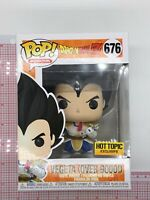 Funko Pop! Dragon Ball Z Vegeta (OVER 9000!) # 676 HOT TOPIC Animation N03