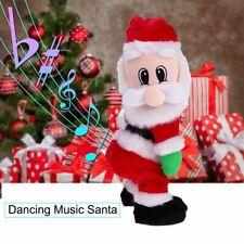 Christmas Decor Dancing Electric Musical Toy Santa Claus Doll Twerking Singing