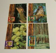 Mint 1996 Nature Of Australia Stamp Maxi Cards Set Of 5 - Mint Cards