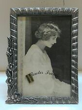 WHOLESALE...Vintage Square Floral Frame/ Pewter Picture Frame (Lot of 5)
