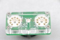 1pc Dual Gold GEC A2293 CV4079  instead 6AS7 6080 tube adapter For Darkvoice