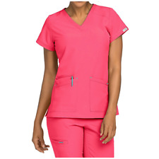 ae0da86d19a Med Couture Medical Scrub Set Yoga Pant 8780/8537 Top Watermelon/Teal Small  New