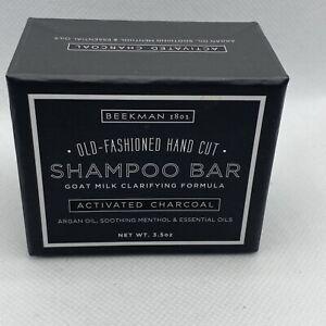 Beekman 1802 Activated Charcoal Shampoo Bar / Hand-Cut 3.5 oz.
