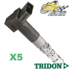 TRIDON IGNITION COIL x5 FOR Volkswagen Passat 11/02-11/05, V5, 2.3L AZX