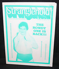 Stranglehold Official N.W.A Wrestling Program with Ticket Stub - 8/28/1983